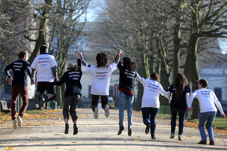 Corpo Europeu de Solidariedade: Candidaturas abertas 21/08/2018