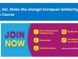 Curso sobre o Corpo Europeu de Solidariedade online